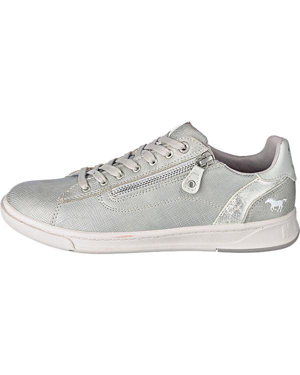 MUSTANG MUSTANG Sneakers silber