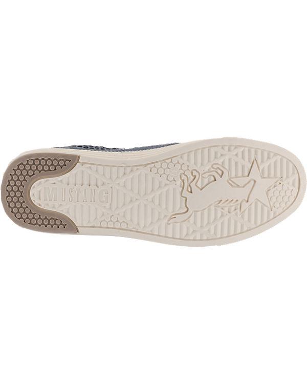 MUSTANG MUSTANG Sneakers blau Billig Store Verkauf Neuer Stile RmgOu3E