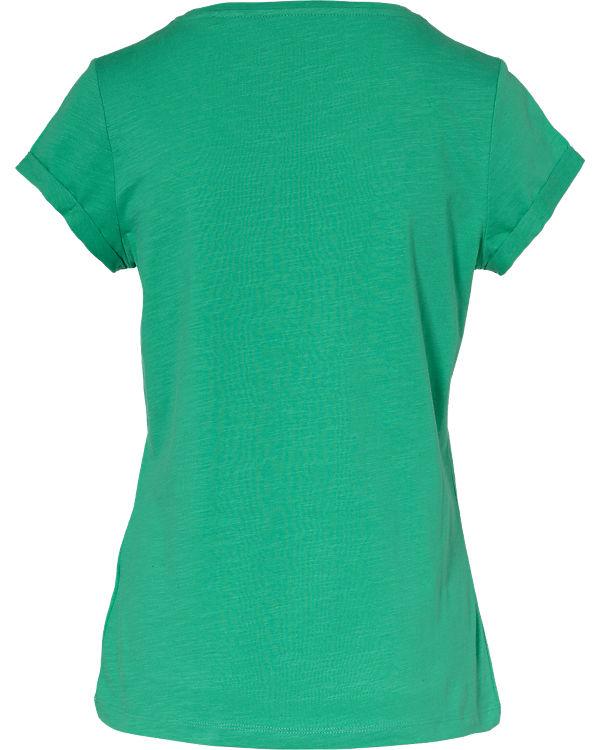 edc by ESPRIT T-Shirt grün