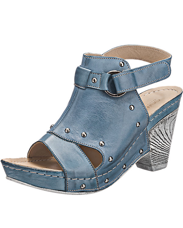 GEMINI GEMINI Kiara Sandaletten blau