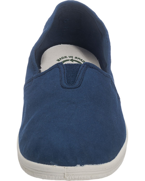 natural world Camping Tintado Slipper dunkelblau