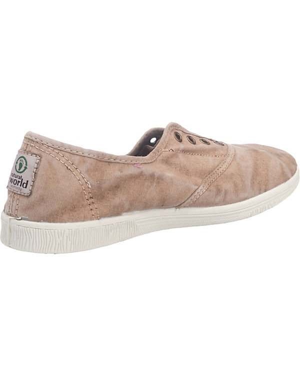 natural world Ingles Enzimatico Sneakers cognac Einkaufen Outlet Online P9wXfXEs