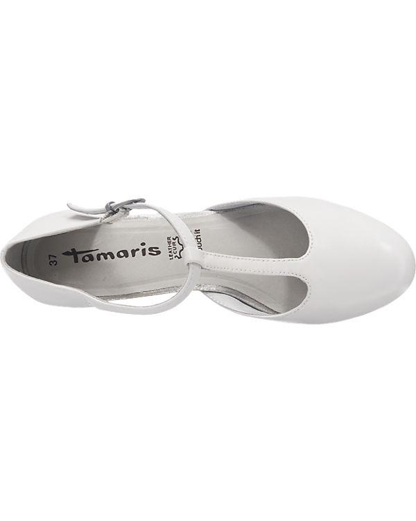 Tamaris Tamaris Esthrada Pumps weiß