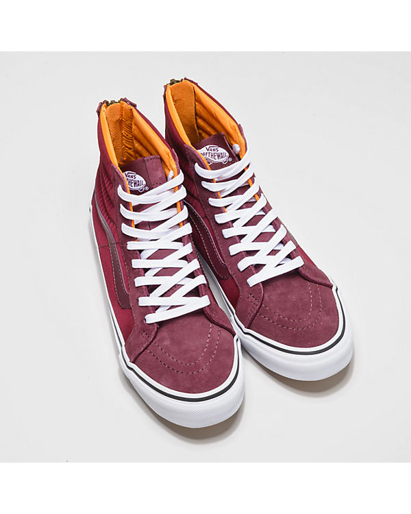 VANS VANS Sk8-Hi Slim Zip Sneakers bordeaux
