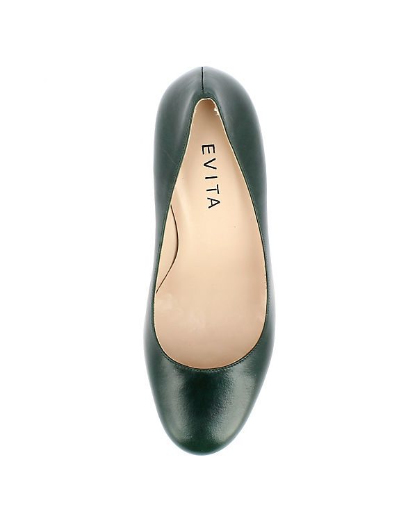 Shoes Shoes Evita dunkelgrün Pumps Evita ZcRgfg
