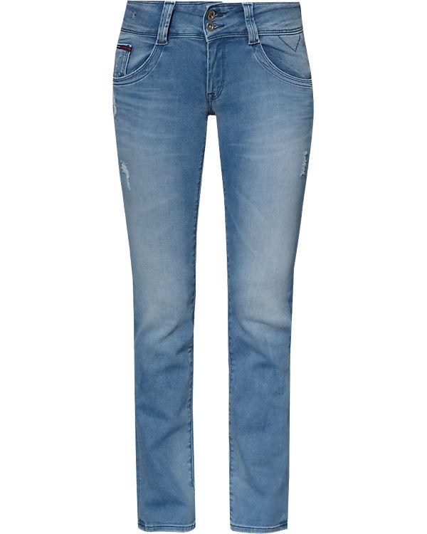 light HILFIGER DENIM blue denim HILFIGER Viola DENIM Straight Jeans fqwYUq