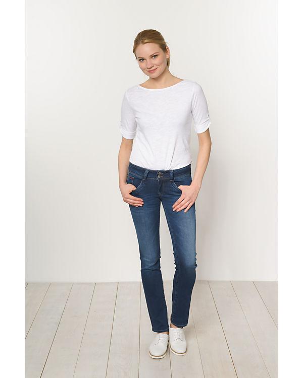 HILFIGER DENIM Jeans Viola Straight blue denim