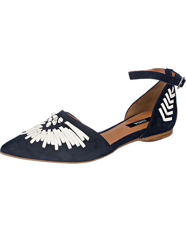 Zinda Zinda Sandaletten dunkelblau
