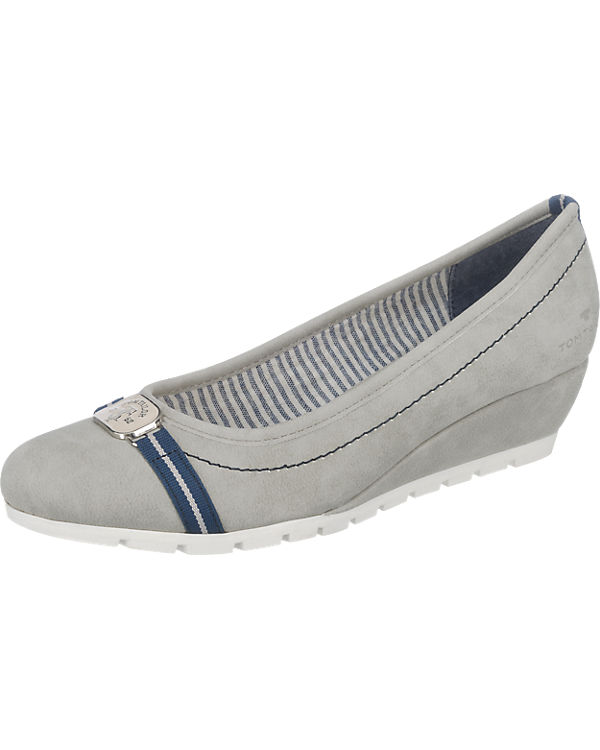 TOM TAILOR TOM TAILOR Pumps grau