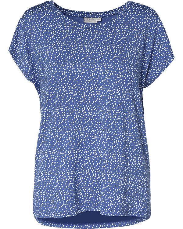 fransa T-Shirt blau