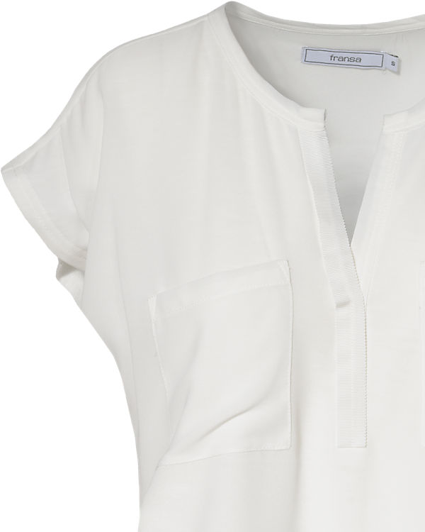 fransa T-Shirt creme