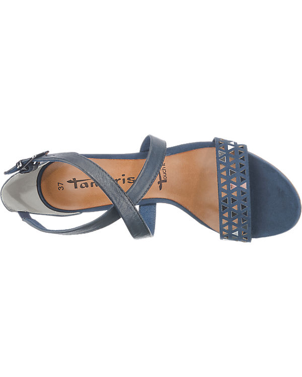 Tamaris, Tamaris Ela Sandaletten, Sandaletten, Sandaletten, blau 38ecfc