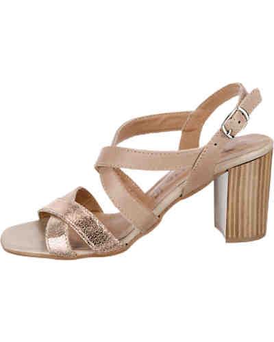 tamaris tamaris lisanna sandaletten grau ambellis. Black Bedroom Furniture Sets. Home Design Ideas