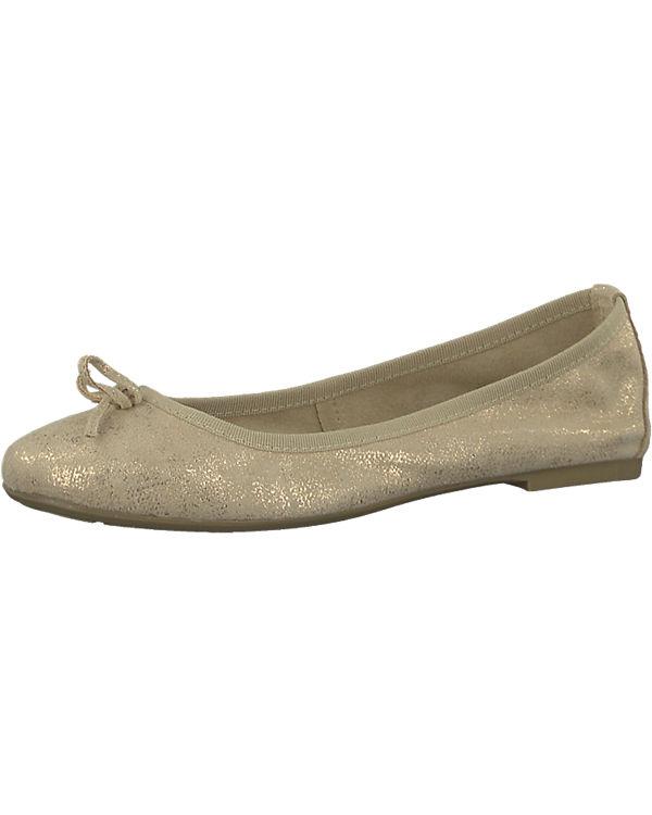 Tamaris Tamaris Ballerinas Belua Tamaris gold Ballerinas Tamaris Belua Belua Tamaris gold Tamaris Ywrrfqx