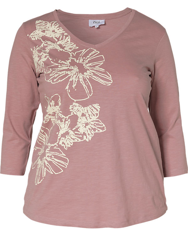 4 Zizzi rosa Shirt Arm 3 aH5w7