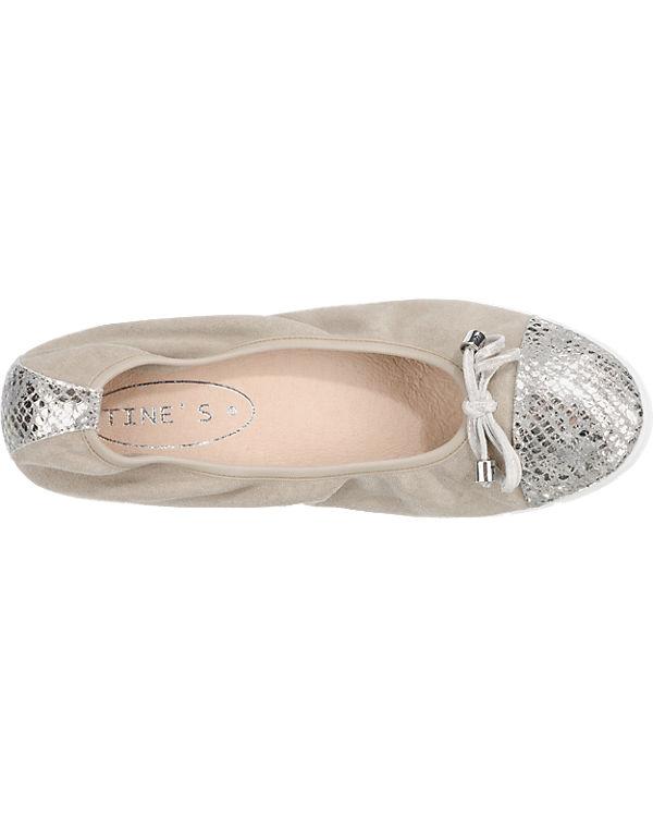 Tine's Tine's Ballerinas grau