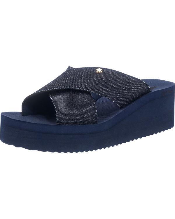flip flop, flip flop flop flop Pantoletten, blau 929eeb