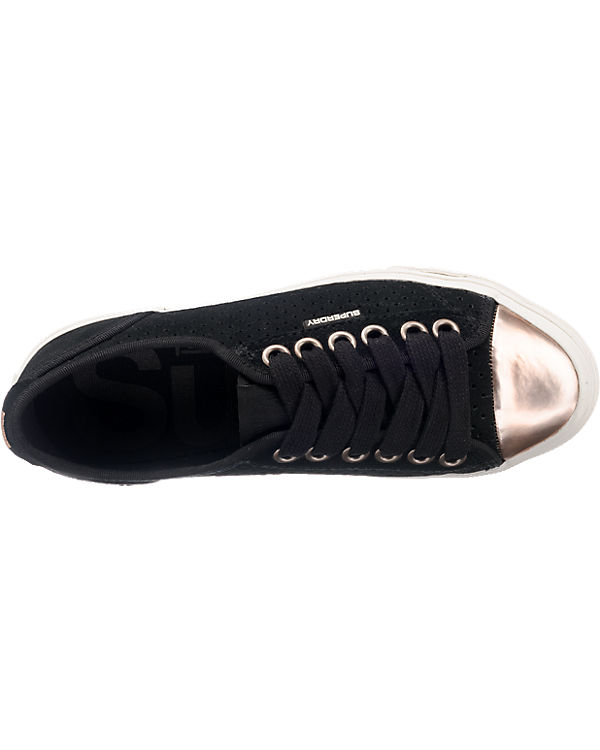 Superdry, Superdry Low Luxe Pro Luxe Low Sneakers, schwarz ff2e46
