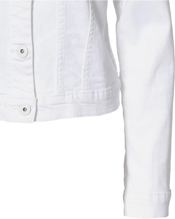 ICHI Jeansjacke weiß