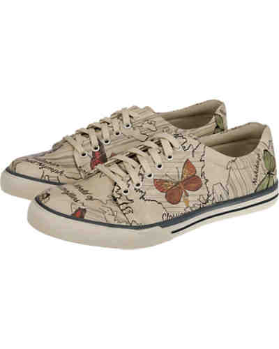 Dogo Shoes The World of Butterflies Sneakers