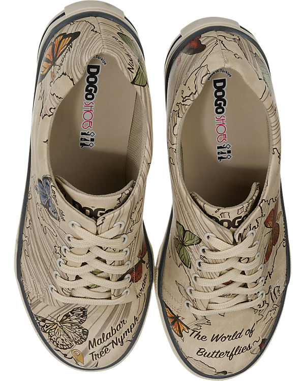 Dogo Shoes Dogo Shoes The World of Butterflies Sneakers mehrfarbig