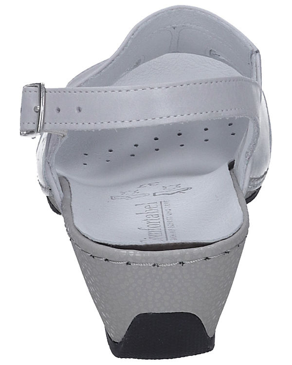 Comfortabel Comfortabel Sandaletten grau-kombi