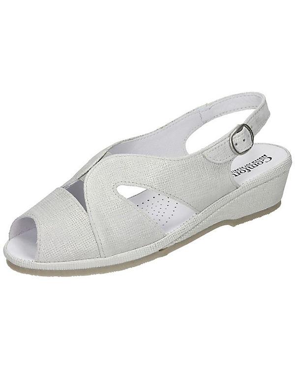 Comfortabel Comfortabel Sandaletten hellgrau