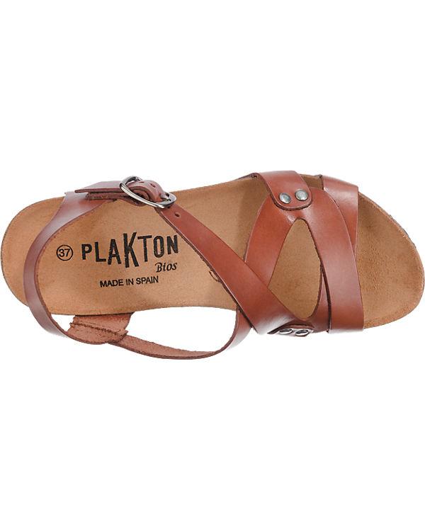 Plakton Plakton Sandaletten dunkelbraun