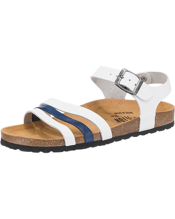 Plakton Plakton Sandaletten blau-kombi