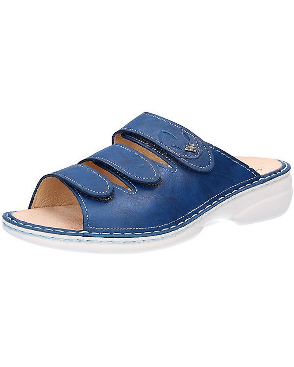 Finn Comfort, Finn Finn Comfort, Comfort Pantoletten, blau 3f441f