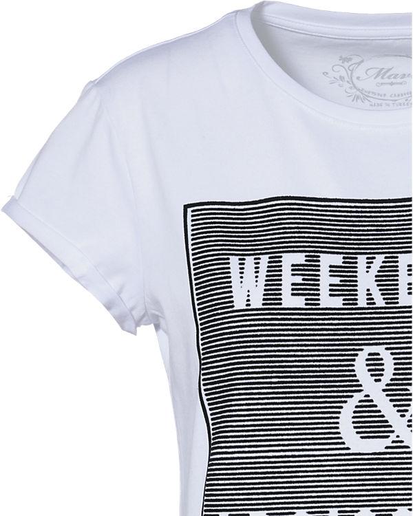 Mavi Mavi T Mavi Shirt weiß weiß T Shirt T XBqpwXE6x