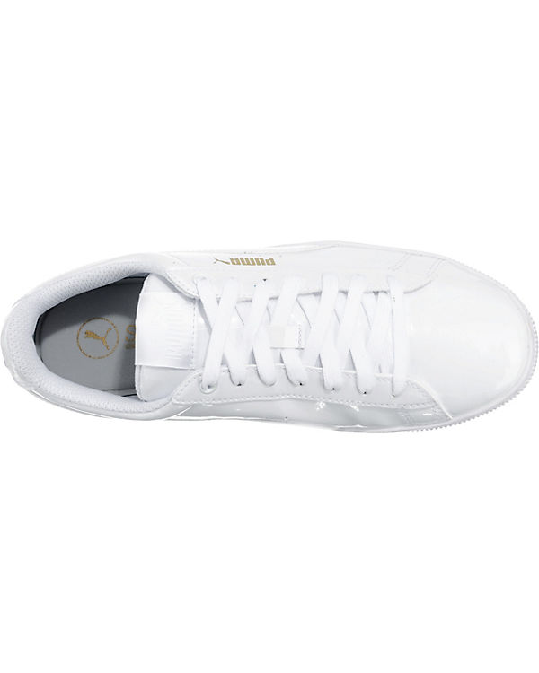 PUMA, Vikky PUMA Vikky PUMA, Platform Patent Sneakers, weiß 1ccba5