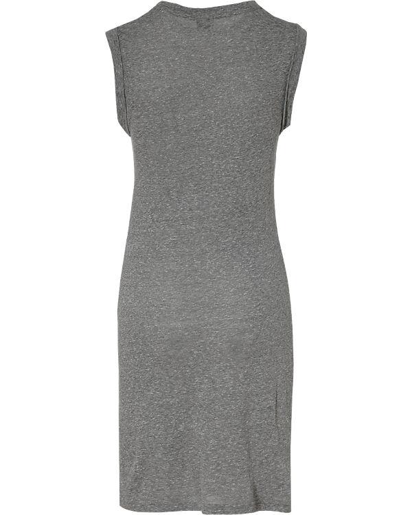 BENCH Jerseykleid grau