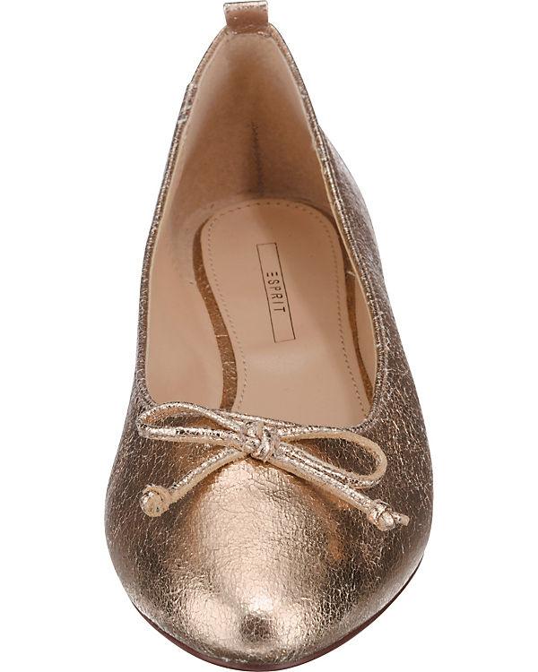 ESPRIT, ESPRIT Agua Agua Agua Ballerinas, gold a08a87