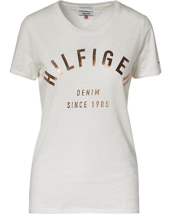 HILFIGER DENIM T-Shirt offwhite