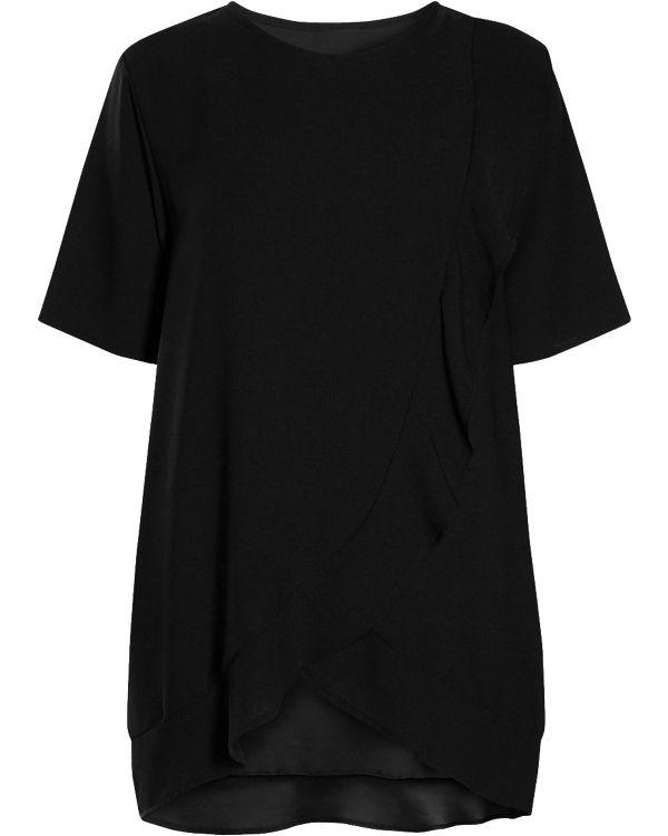 next Stillshirt schwarz