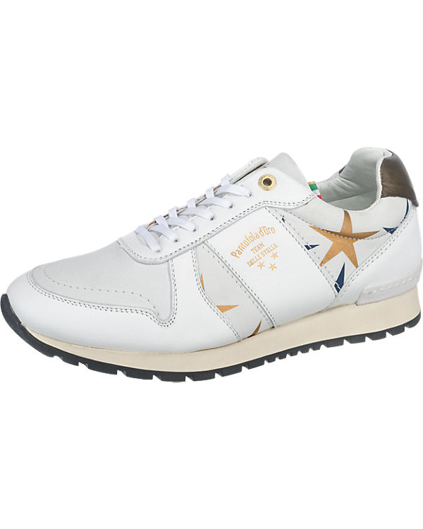 Pantofola d'Oro, Pantofola d'Oro Teramo Stelle Donne Low Sneakers, Sneakers, Sneakers, weiß 74caaf