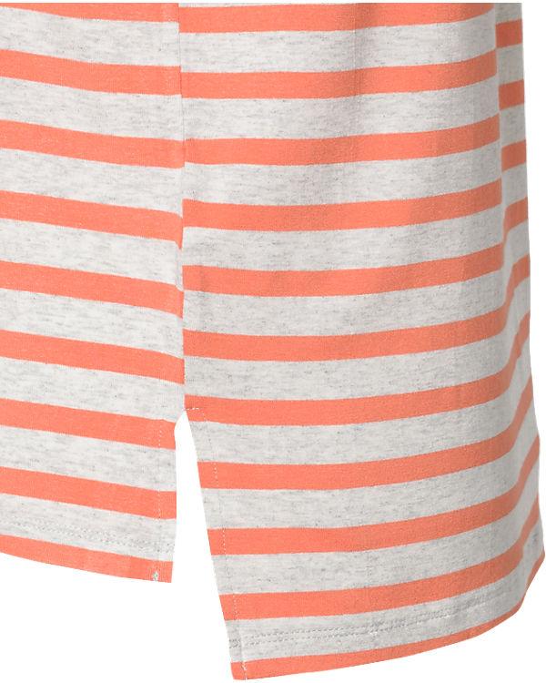 VILA T-Shirt grau/orange