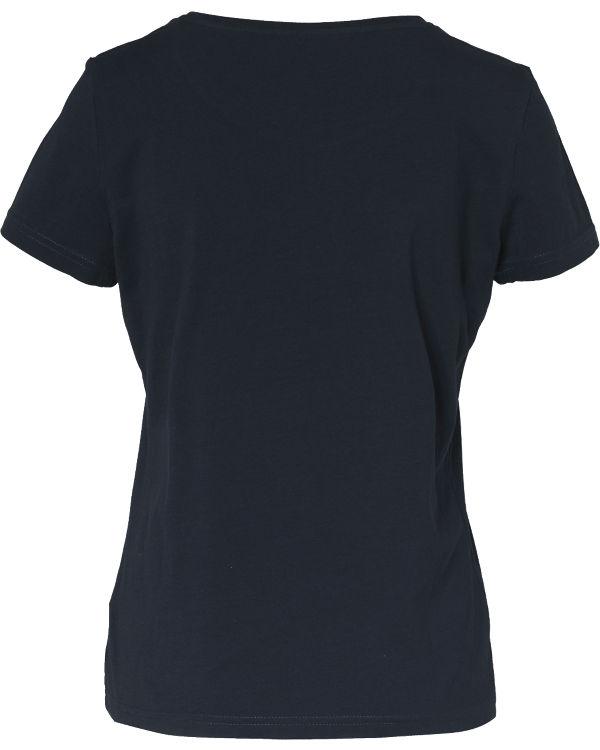 TOM TAILOR T-Shirt dunkelblau