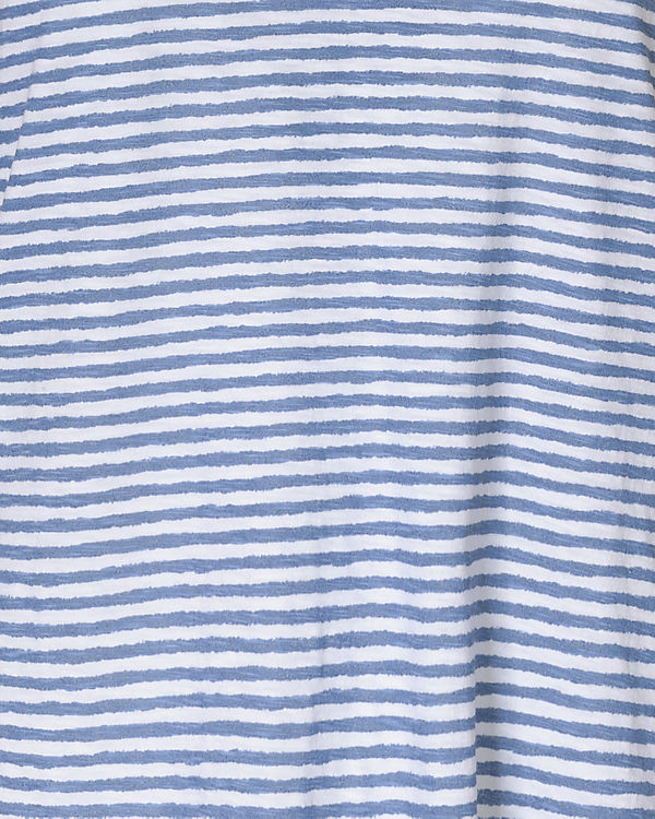Marc O'Polo Top blau/weiß