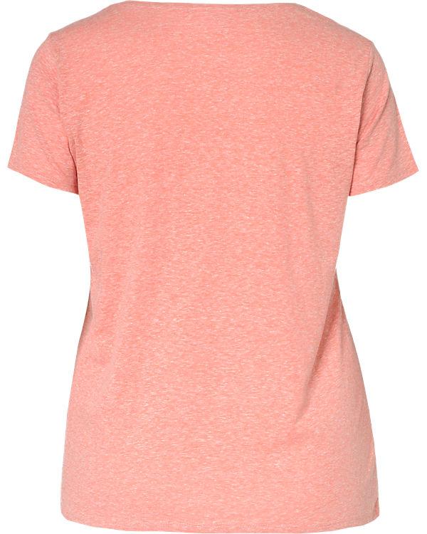 Zizzi T-Shirt rot
