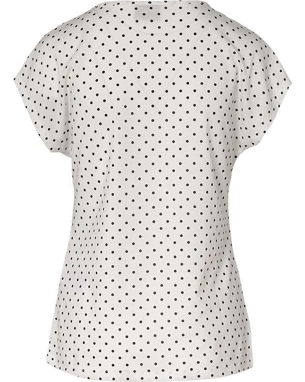 VERO MODA T-Shirt schwarz/weiß