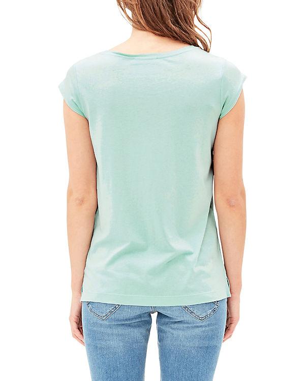 s.Oliver T-Shirt grün