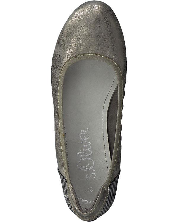 s.Oliver s.Oliver Ballerinas silber