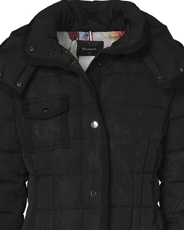Desigual Desigual schwarz schwarz Wintermantel Wintermantel Wintermantel Desigual schwarz CwzAqvPt