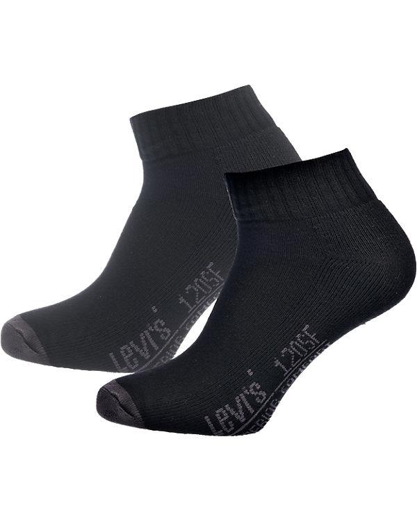 schwarz Paar 2 Levi's® Sneaker Socken HgRnWwZq
