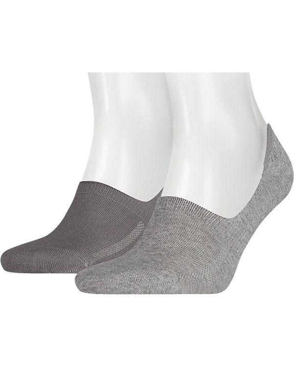 Levi's® Levi's® 2 Paar Füßlinge Socken grau