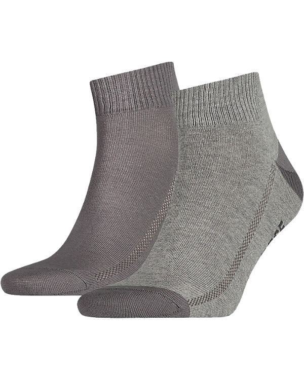 Levi's® Levi's® 2 Paar Kurzsocken Socken grau