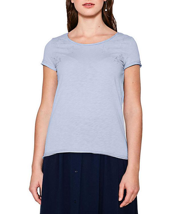 Shirt ESPRIT by edc T hellblau 6q8tnHwX