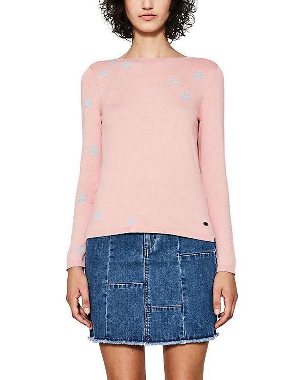 edc by ESPRIT Pullover rosa